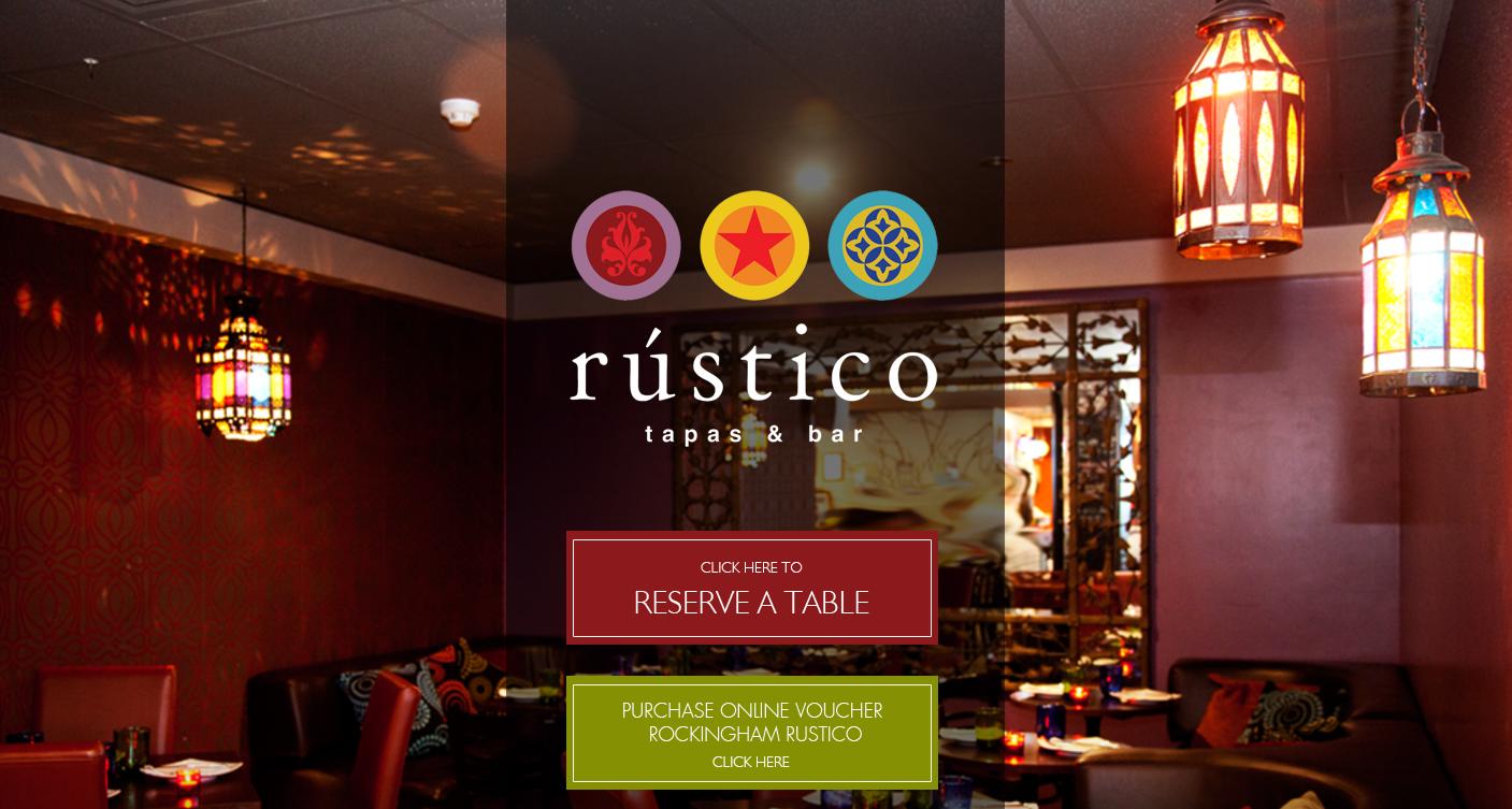Rustico Tapas Bar  www.rusticotapas.com.au