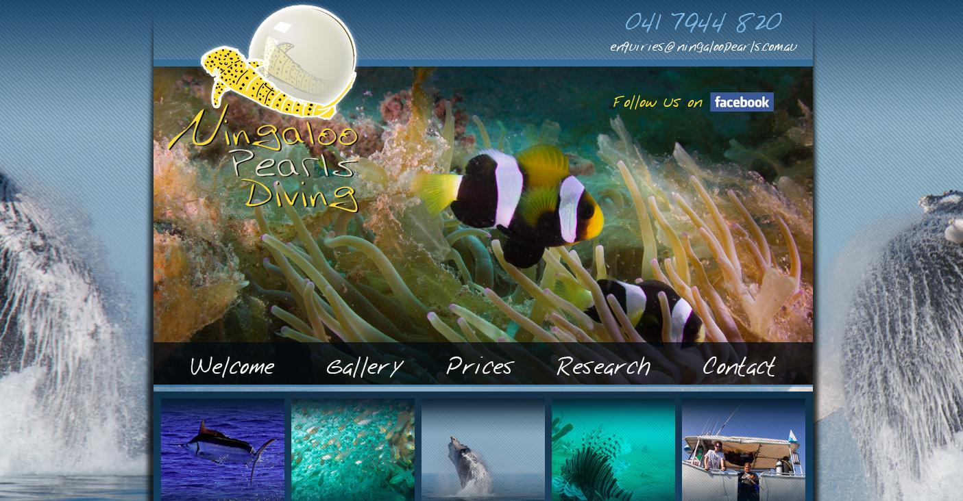 Ningaloo Pearls Diving  www.ningaloopearls.com.au