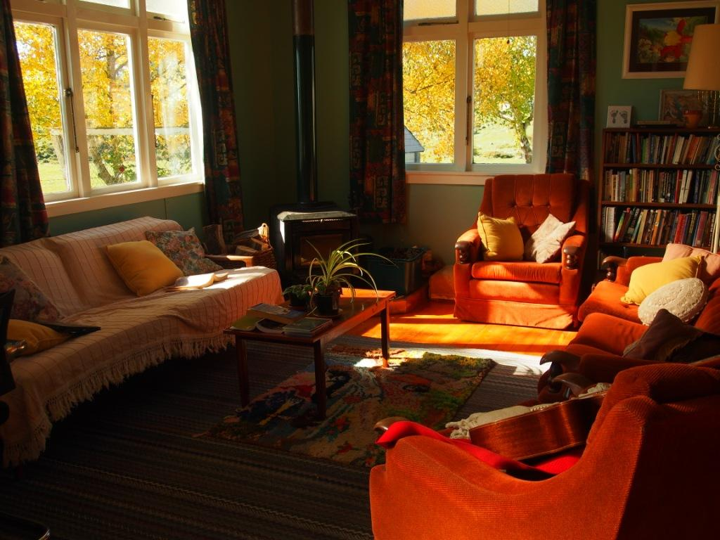 Home sweet home - a place of peace and light and comfortable disarray...