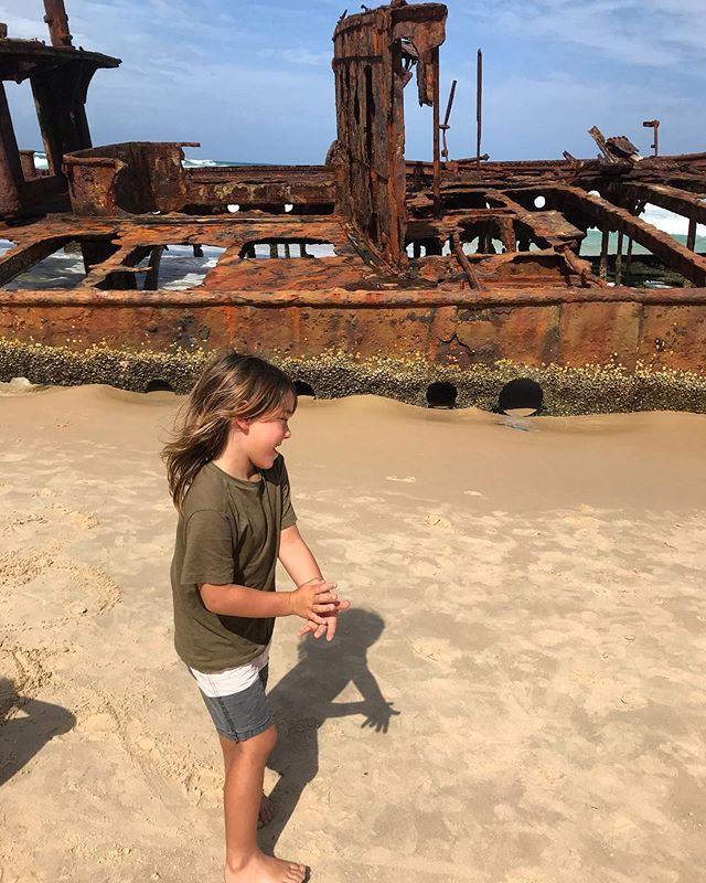 This island has so much to explore - including the S.S Maheno Shipwreck - and staggering natural beauty. This is the second time we've visited Fraser Island, the world's largest sand island,  in the past year. Ziggy's face says it all, right? Highly recommend!