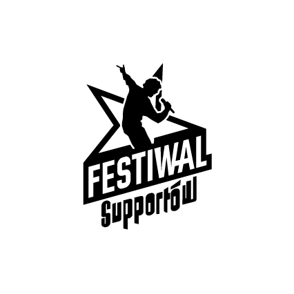 Festiwal Supportów - Logo - Czarne