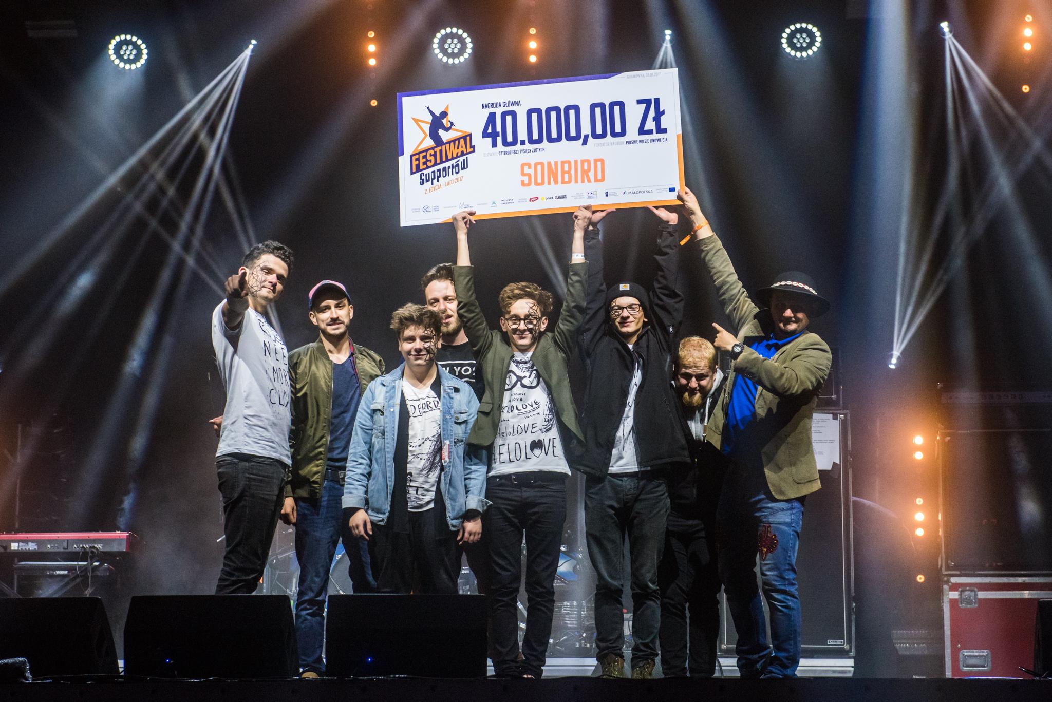 Sonbird - zwycięzca 2. edycji Festiwalu Supportów