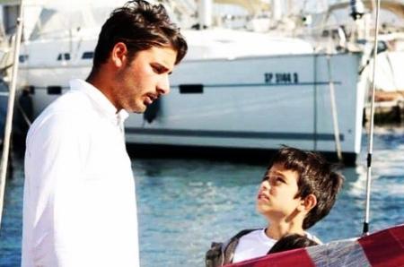 Michele e un suo giovane amico