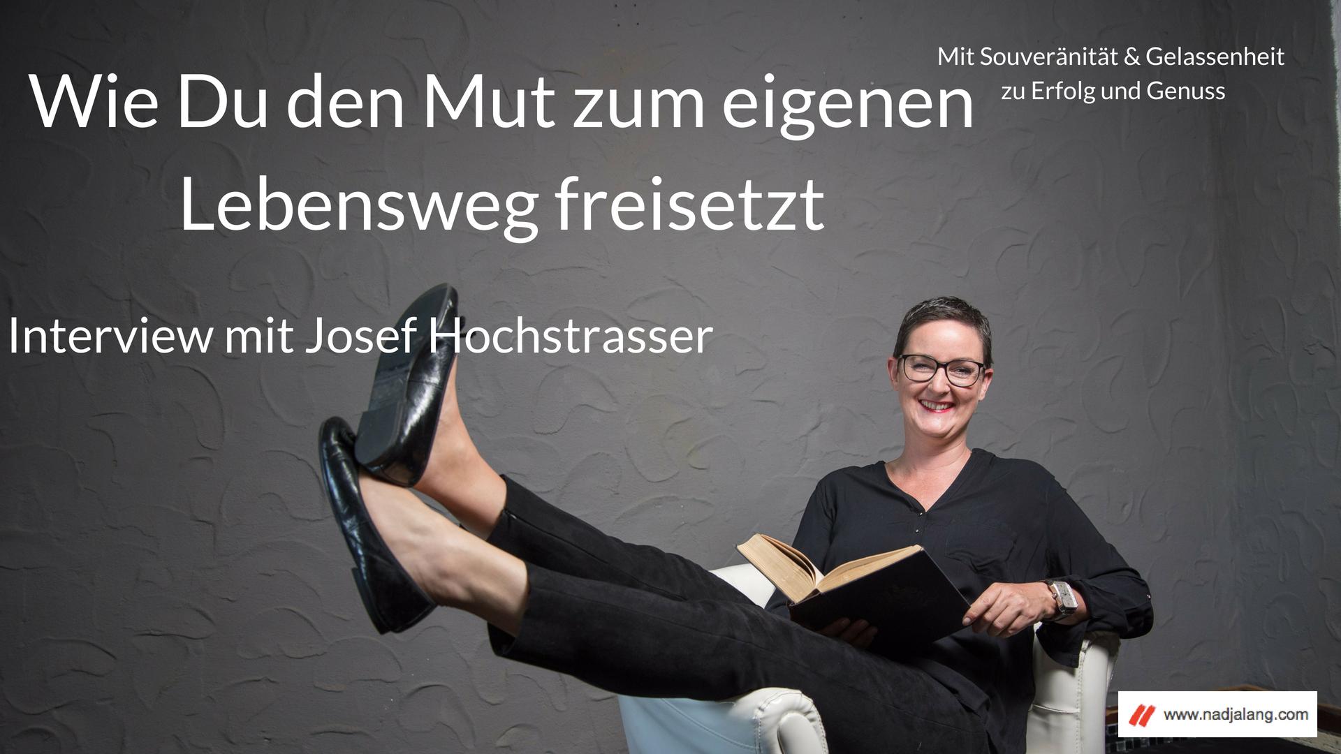 #001 Interview mit Josef Hochstrasser