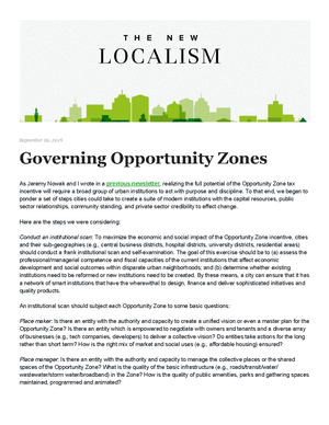 Copy of Governing Opportunity Zones