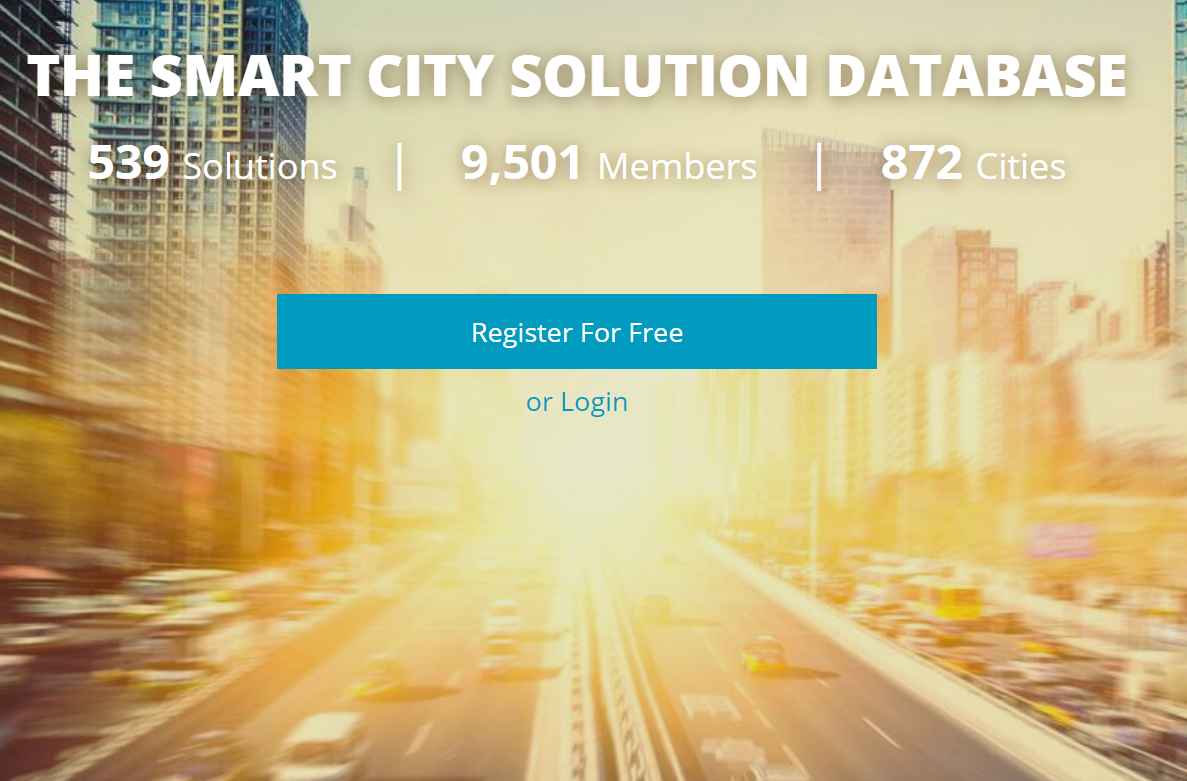 Copy of Smart City Solution Database