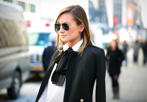 Office chic bow