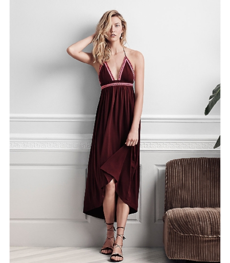 Your perfect go-to dress for Spring festivals at  Express  by Karlie Kloss.