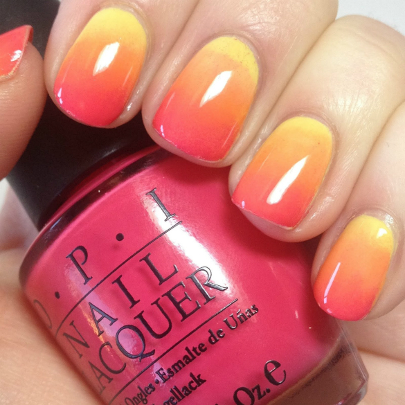 The perfect summer nail colors to match! This polish is available at Ulta Beauty for only $10! -