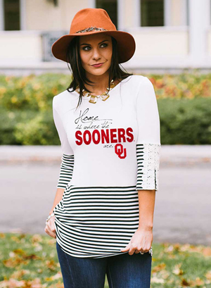 Whether you are going to the rodeo or a  football  game, always dress to impress.
