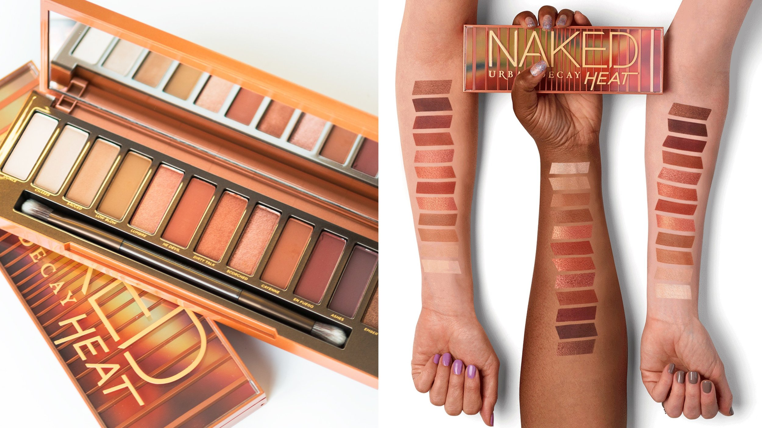 Naked Heat can be found at Ulta, Sephora, or Department stores for $54.