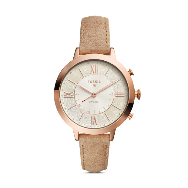 You would never guess this is a smart watch! There are tons of cute styles to choose from and a really affordable price.  Fossil  - $155.