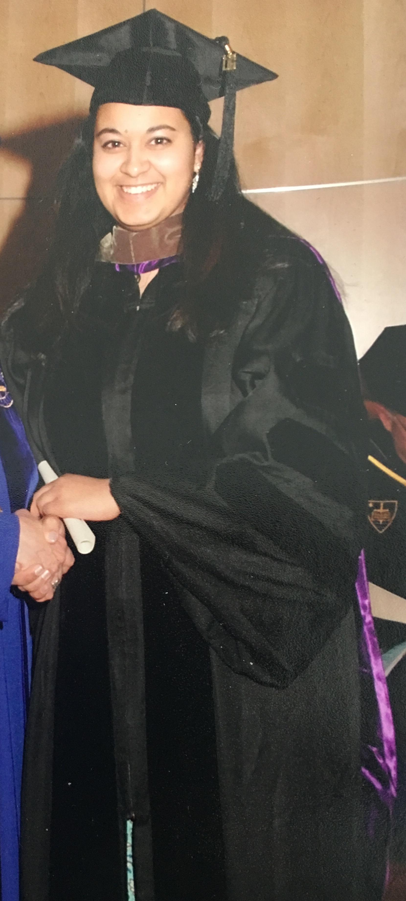 Graduating from Pharmacy school