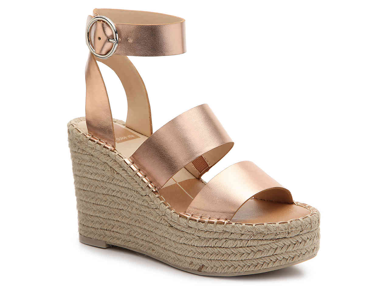 Rose gold is the hot color of the year! Check out these beauties from  DSW  $70