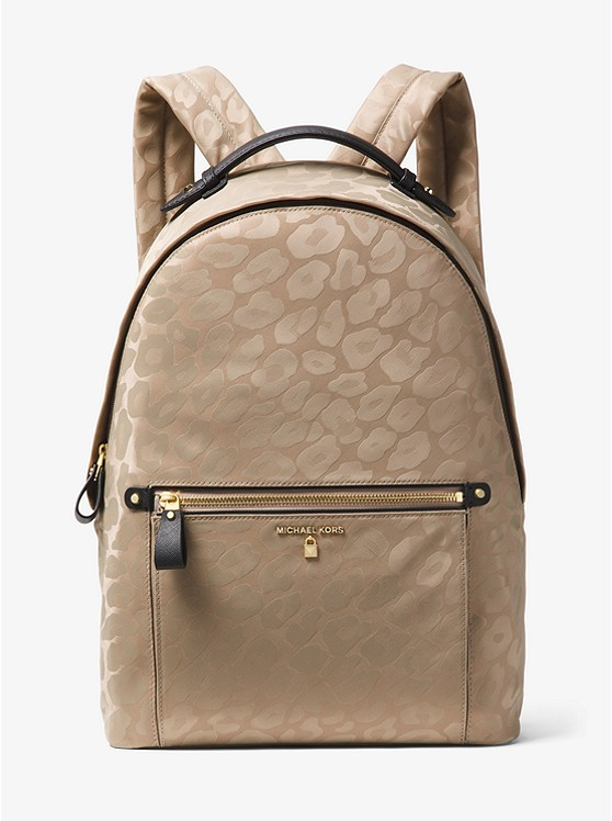 Kelsey Large Leopard Nylon Backpack Michael Kors - I am dying right now! I love almost anything print. This gorgeous bag comes in Truffle, as shown, and black for only $178. Show your wild side!