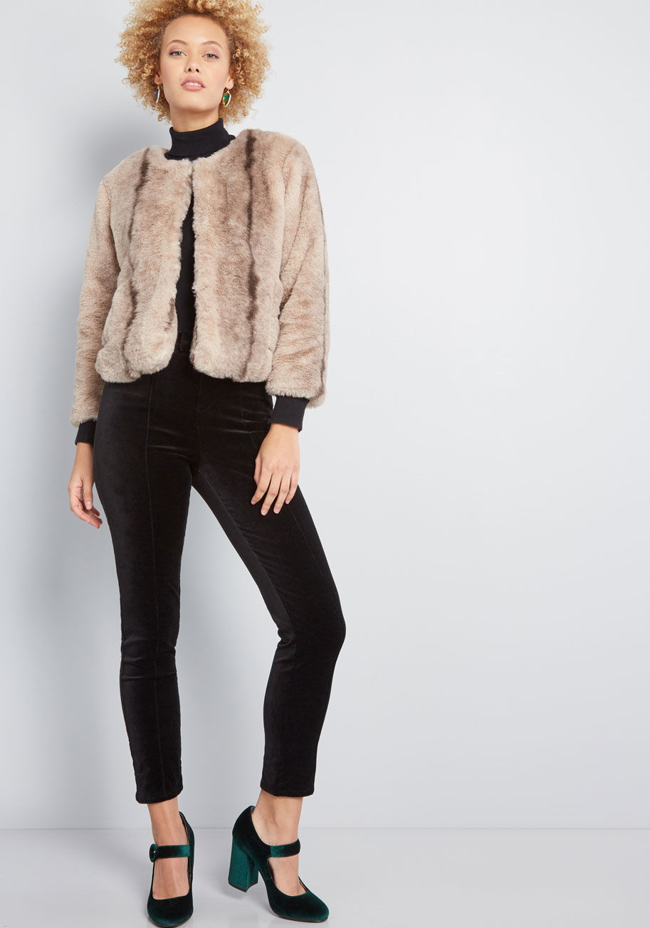 Statement Made Faux Fur $89
