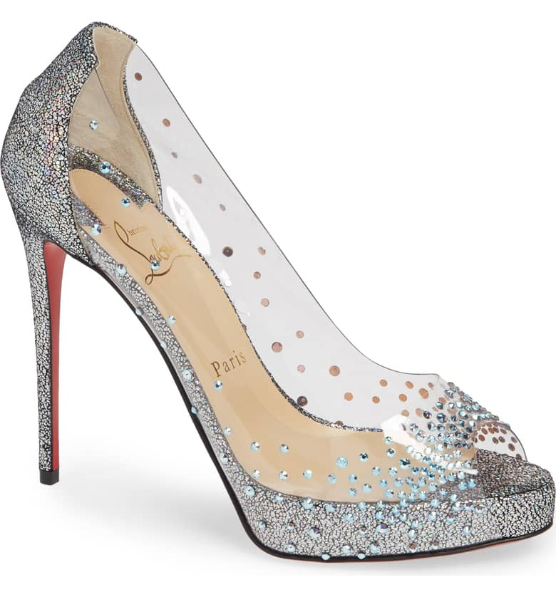 Louboutin Very Strass $1,295