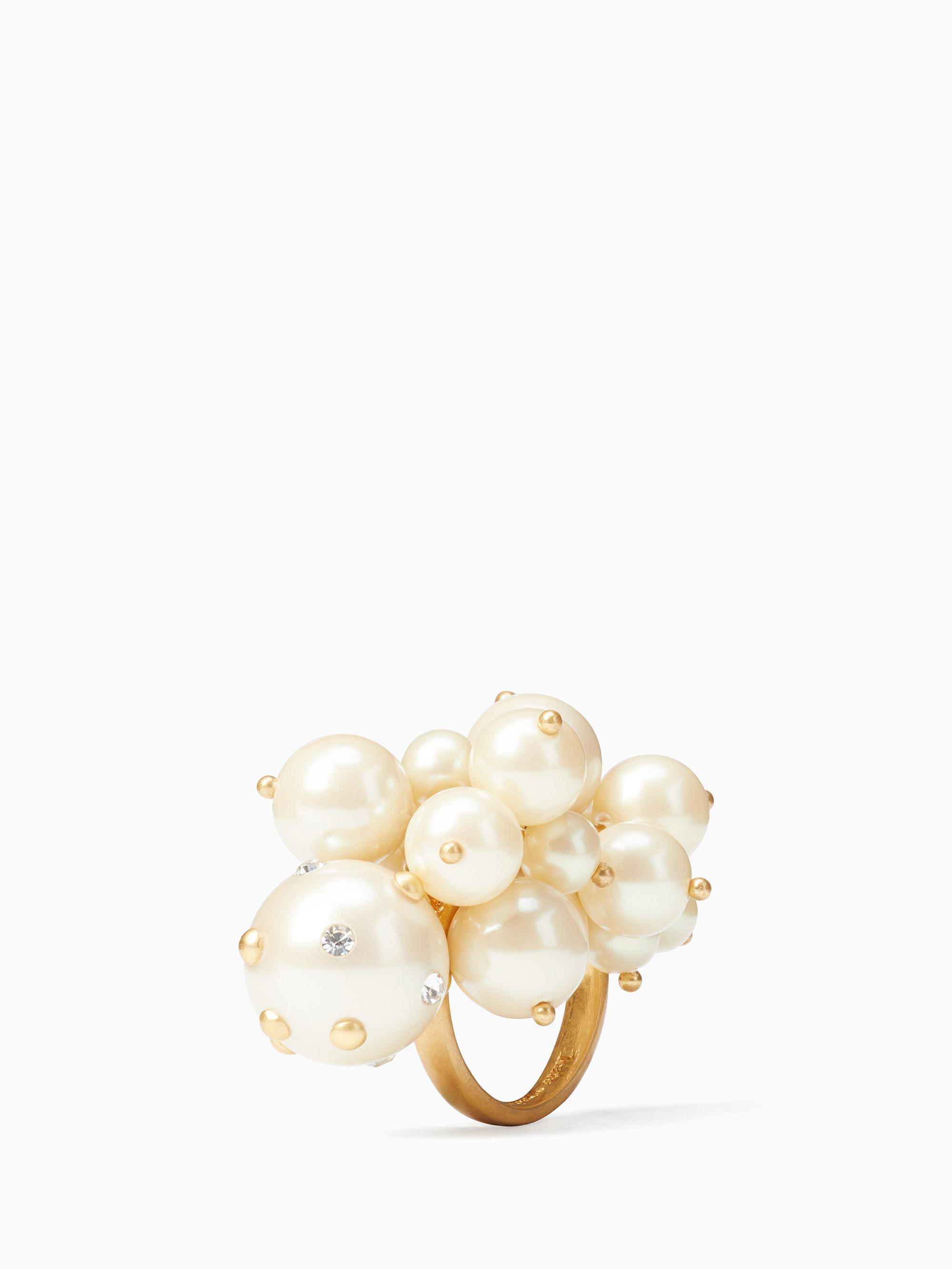 Kate Spade Pearl Cluster $88