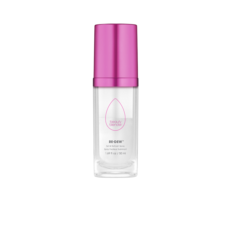 Beautyblender Re-Dew Set & Refresh Spray - From the brand that brought us our favorite makeup applicator, they have now launched a face mist, which promises to render makeup touch-ups obsolete. The two-phase solution combines hyaluronic acid and antioxidant-enriched water with a milky oil that, when mixed and spritzed on the skin, delivers just the right amount of moisture and radiance to revive any existing makeup.$30