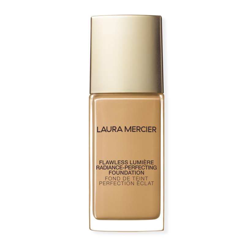 Laura Mercier Flawless Lumière Radiance-Perfecting Foundation - A pearl extract in this medium-to-full coverage base helps reflect light to give your skin an instant glow, regardless of whether you're standing in front of a ring light or sitting under yellow-y office bulbs. But it doesn't stop there: The lightweight, moisturizing formula (available in 30 shades) promises to stay put for up to 15 hours, keeping your skin looking flawless and feeling hydrated the entire time.$48
