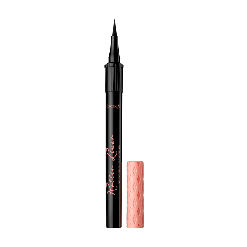 Benefit Roller Liner - For super straight, precise lines, this newbie can't be beat. Available in matte black and matte brown, the extra-fine felt tip of this pen glides on smoothly without dragging, making it easy for even the clumsiest makeup lover to draw on clean wings. And once it sets, it promises to stay put for up to 24 hours — so basically, until you're ready to take it off!$22