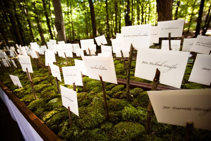 Guest seating labels