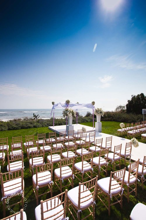 Rows of seating for excited guests