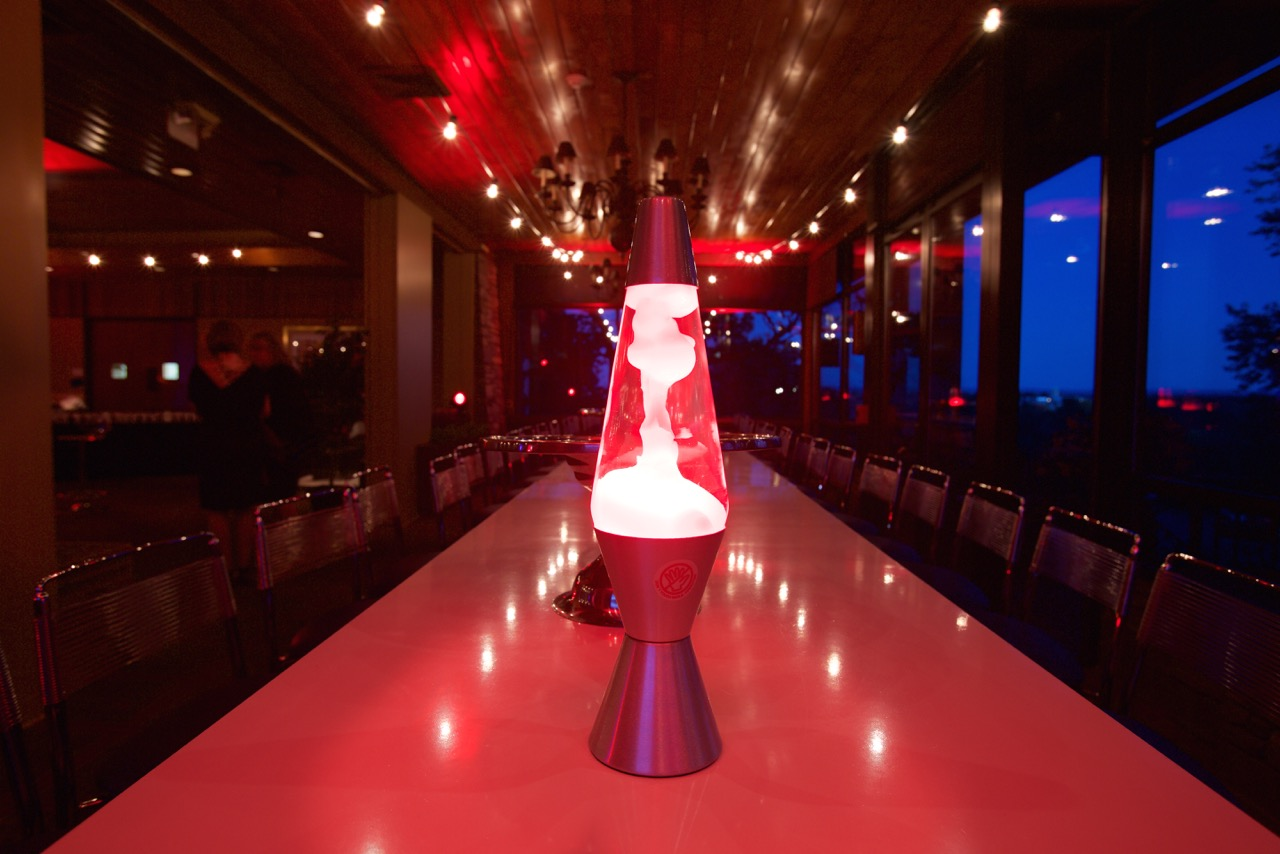 This lava lamp is the perfect retro prop!