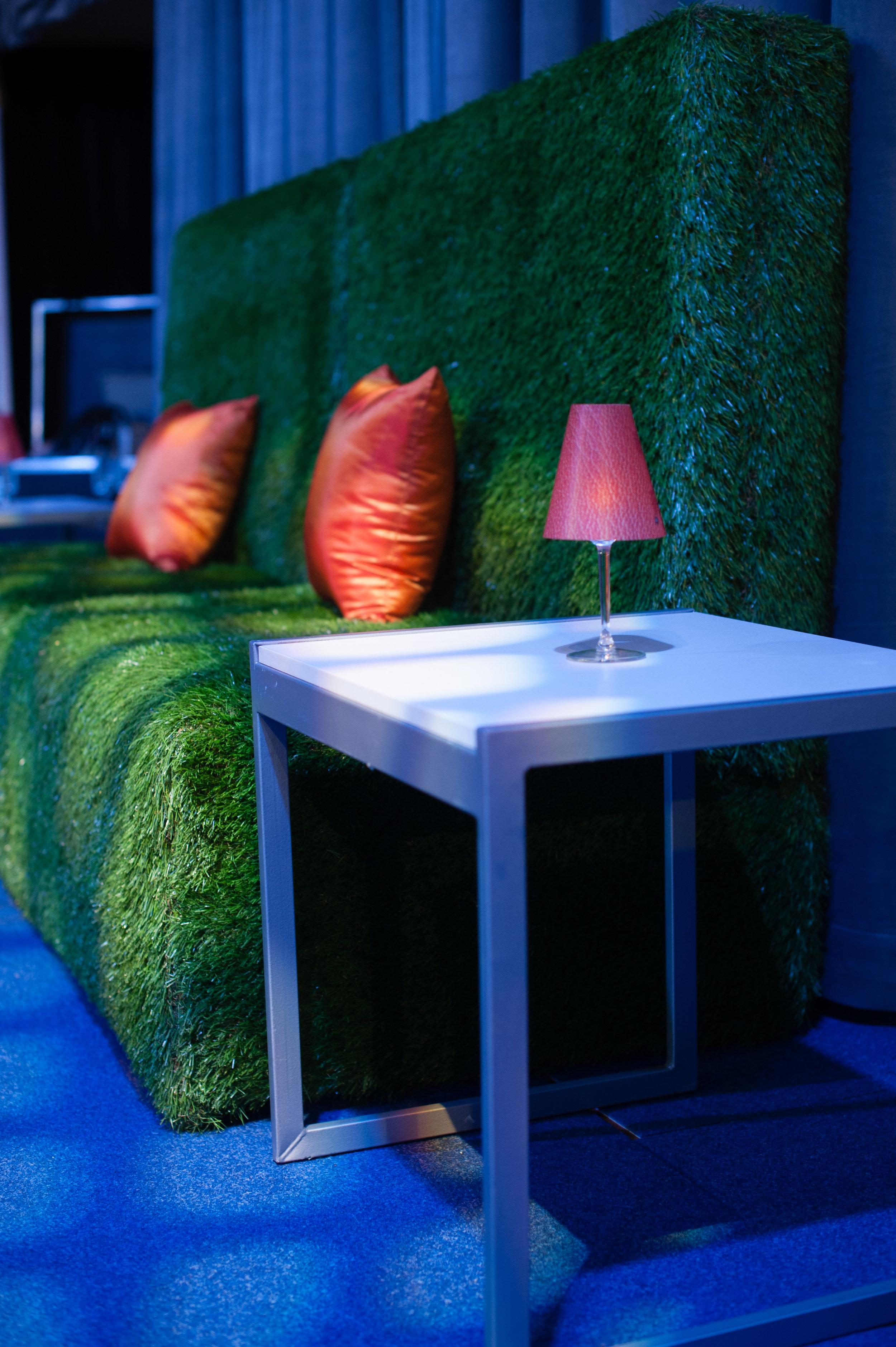 Furniture details, lighting design.
