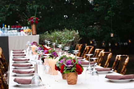 Wedding table design inspiration