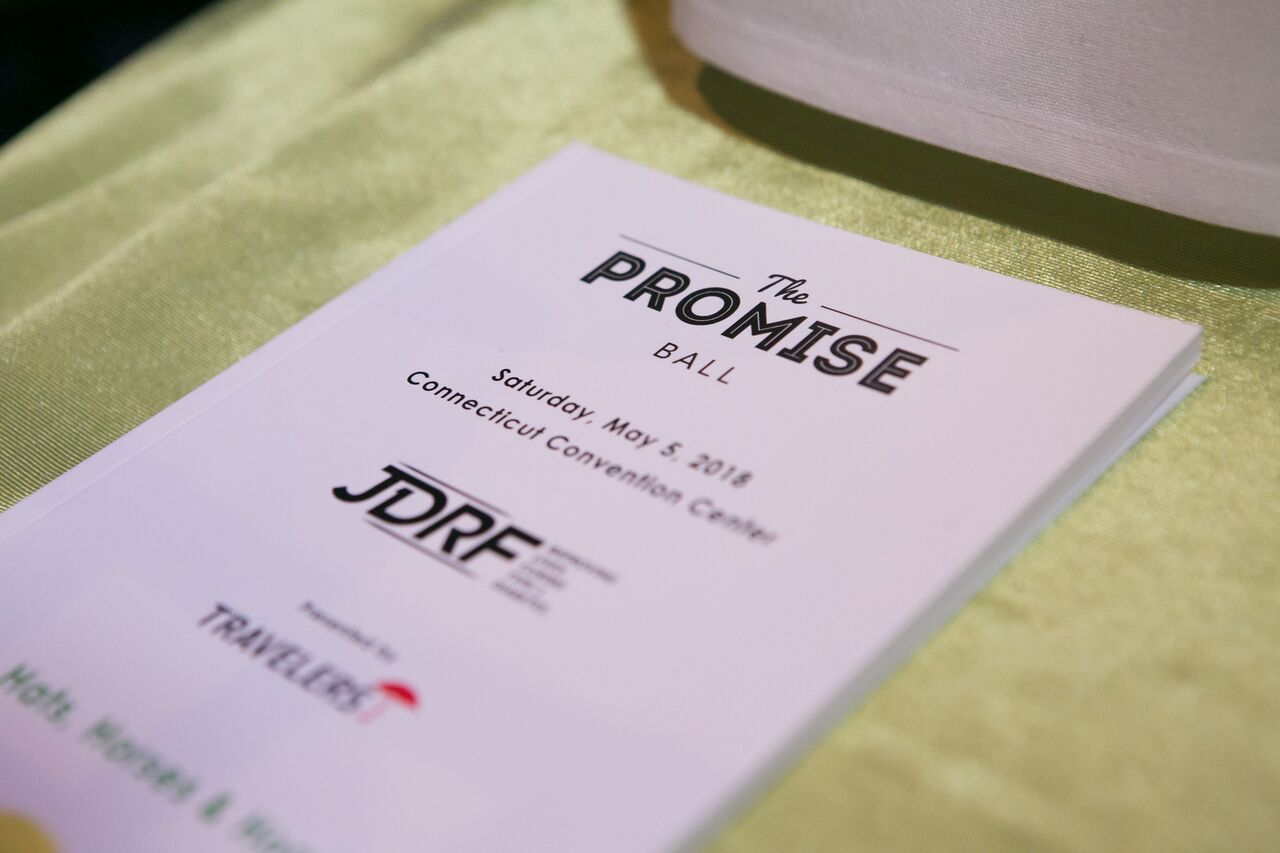 Invitation at The Promise Ball at the Hartford Convention Center