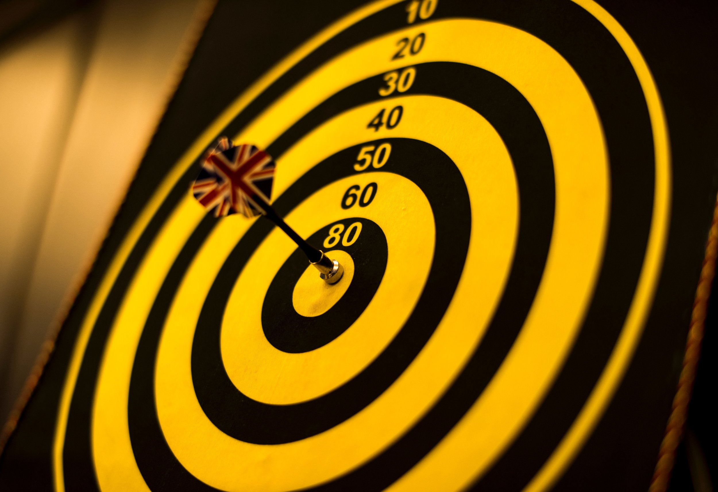 Focus op een bepaalde doelstelling en vier het als deze doelstelling gehaald is!