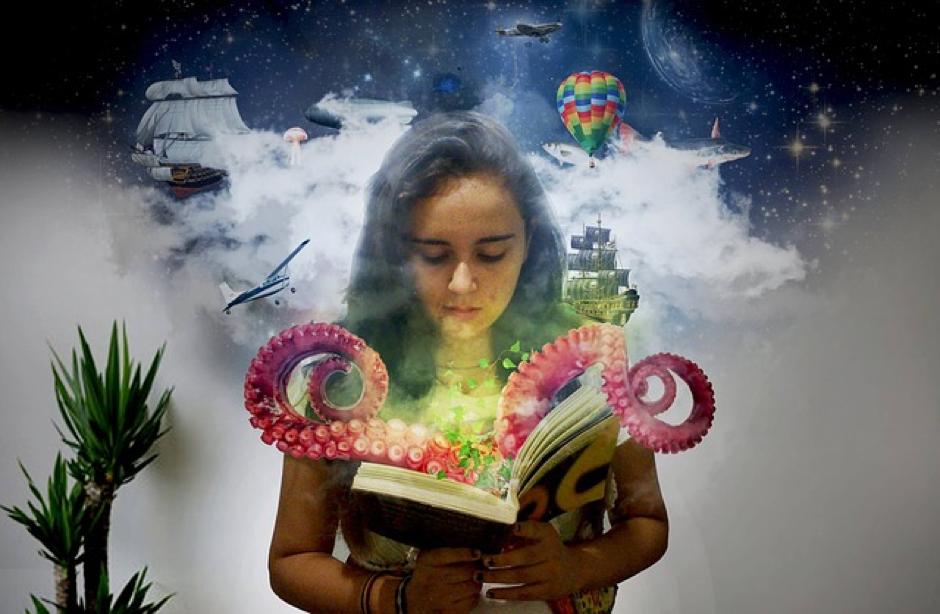 Tijdens het lezen visualiseert je kind het verhaal, waardoor het brein in werking komt!