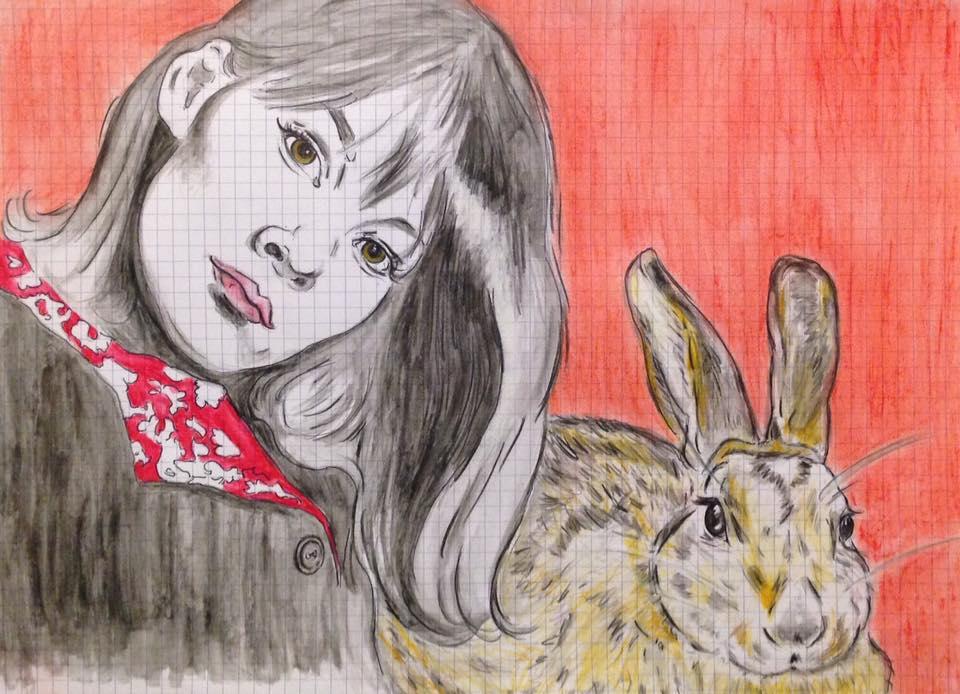 glenda jackson with bunny...