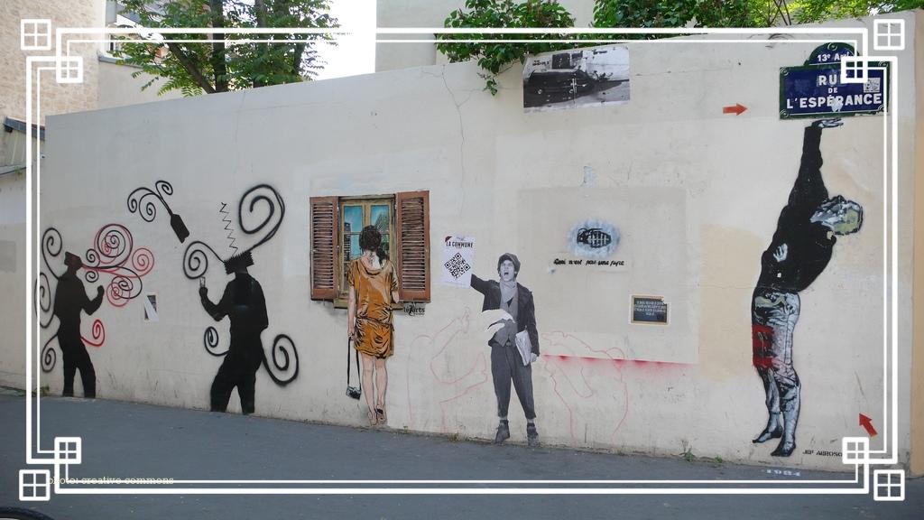 butte-aux-cailles - street art rules