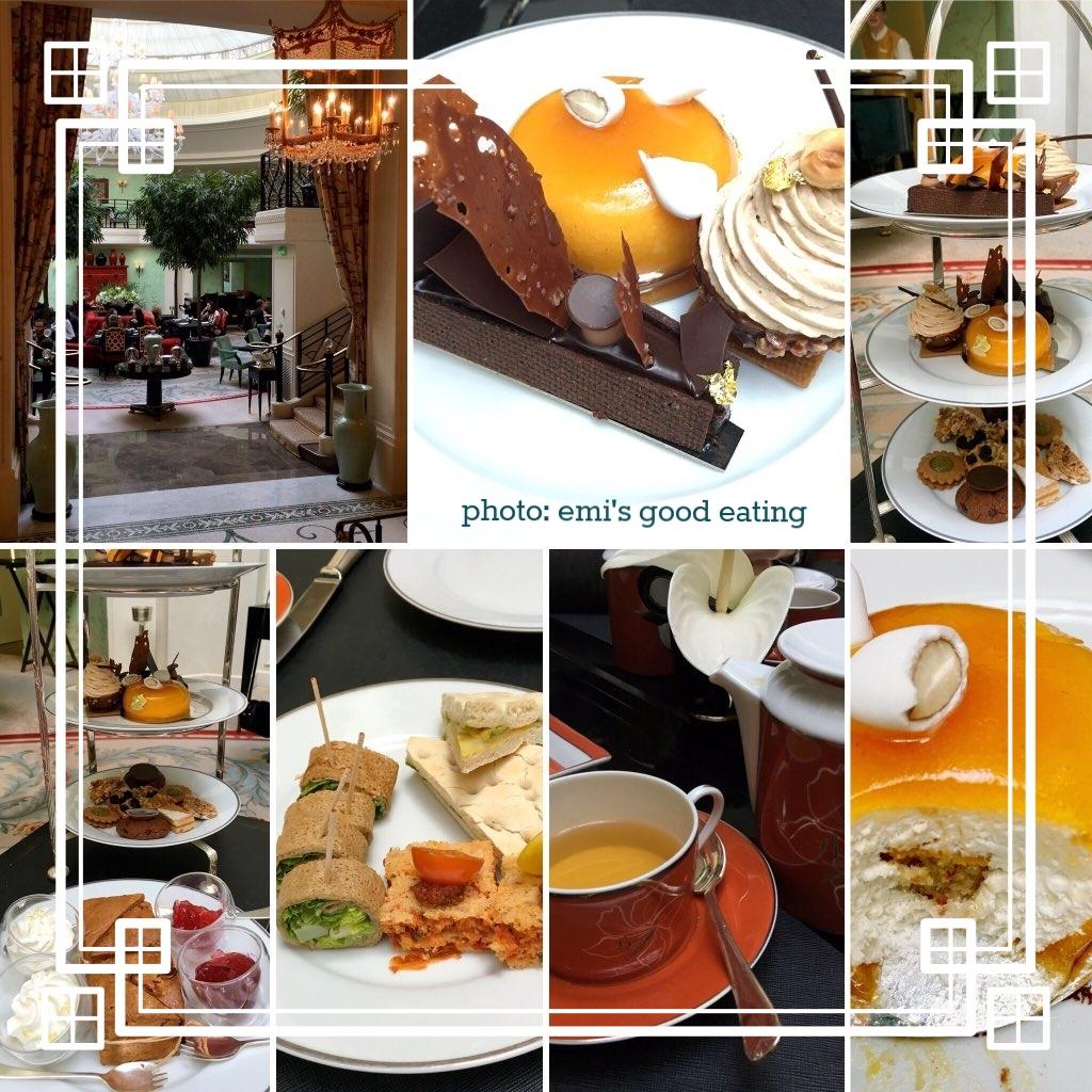 vegan afternoon tea - la bauhinia at shangri-la hotel, 75016