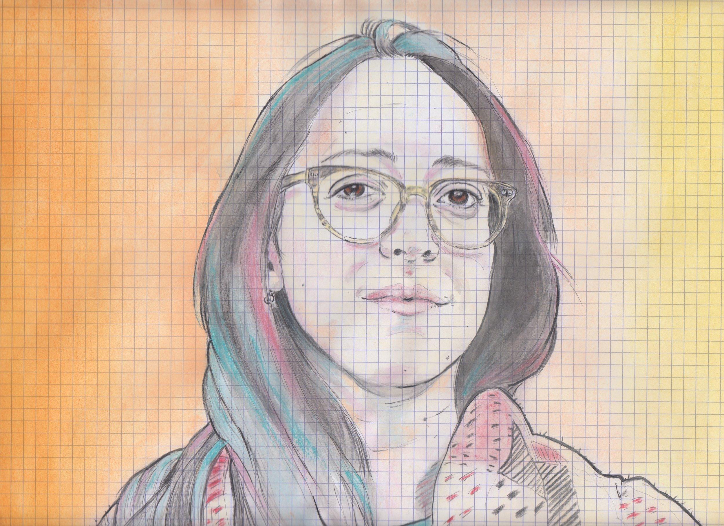 portrait for 'little white lies' website