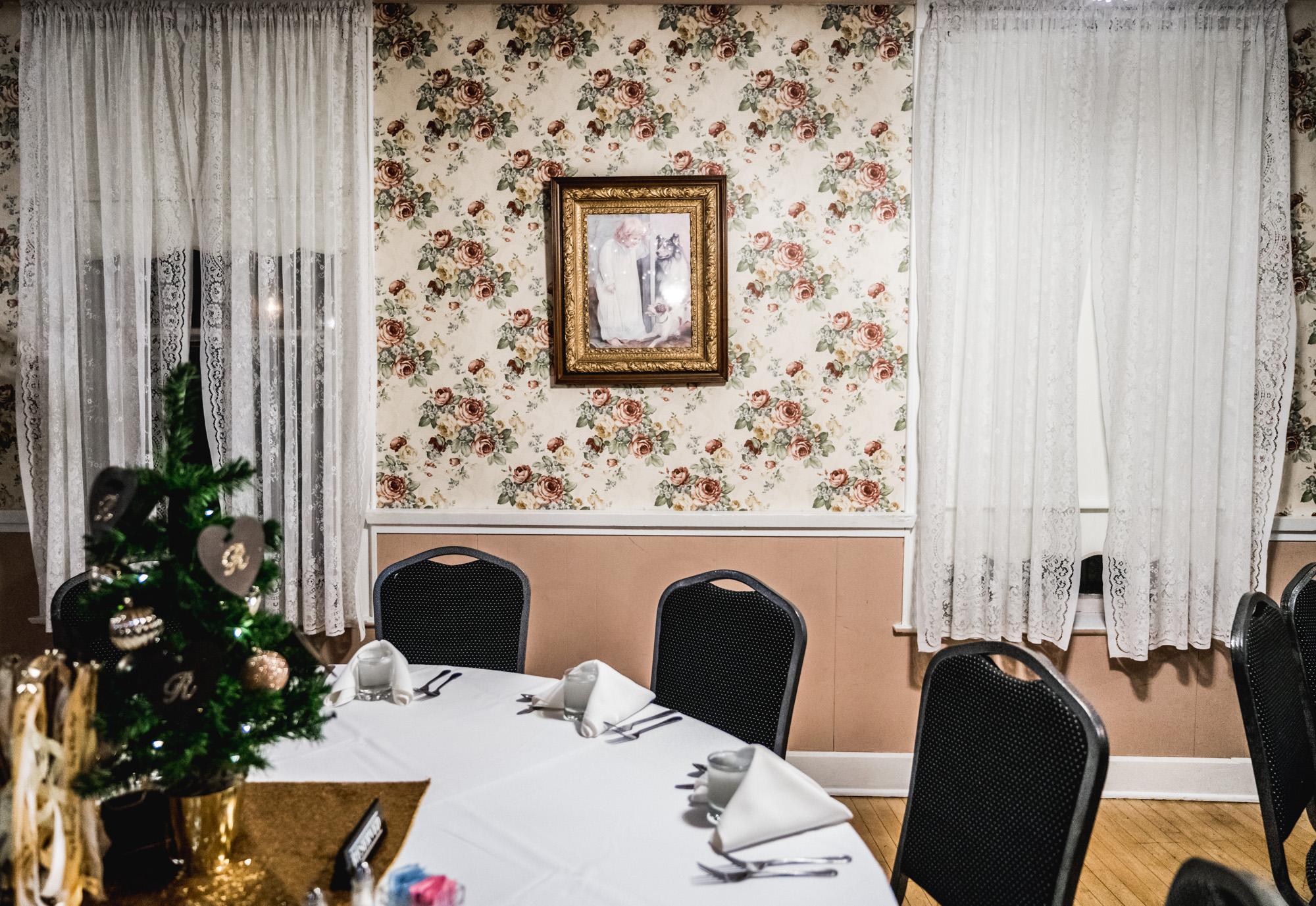 Interior of the Original Springs Hotel wedding venue