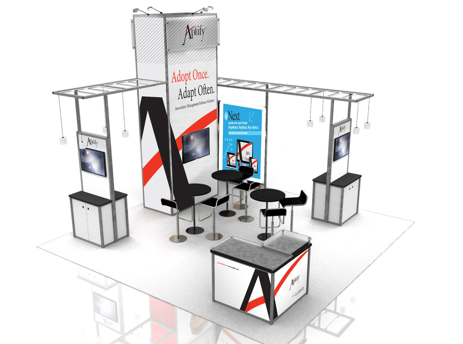 Aptify Booth Redesign