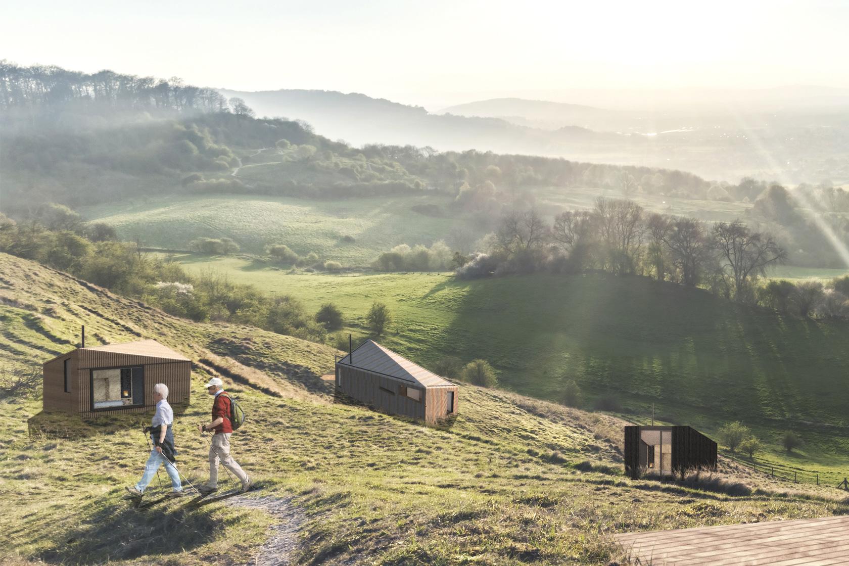 Koto Muutama cabins coming to a North Devon site.