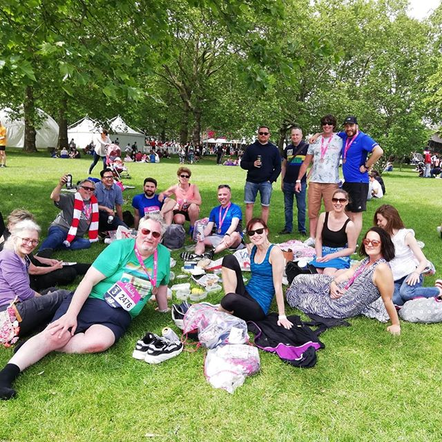 Congratulations to the Wimbledon Arts Studios' artists who completed the Westminster Mile this morning! - #westminstermile #wimbledonartstudios