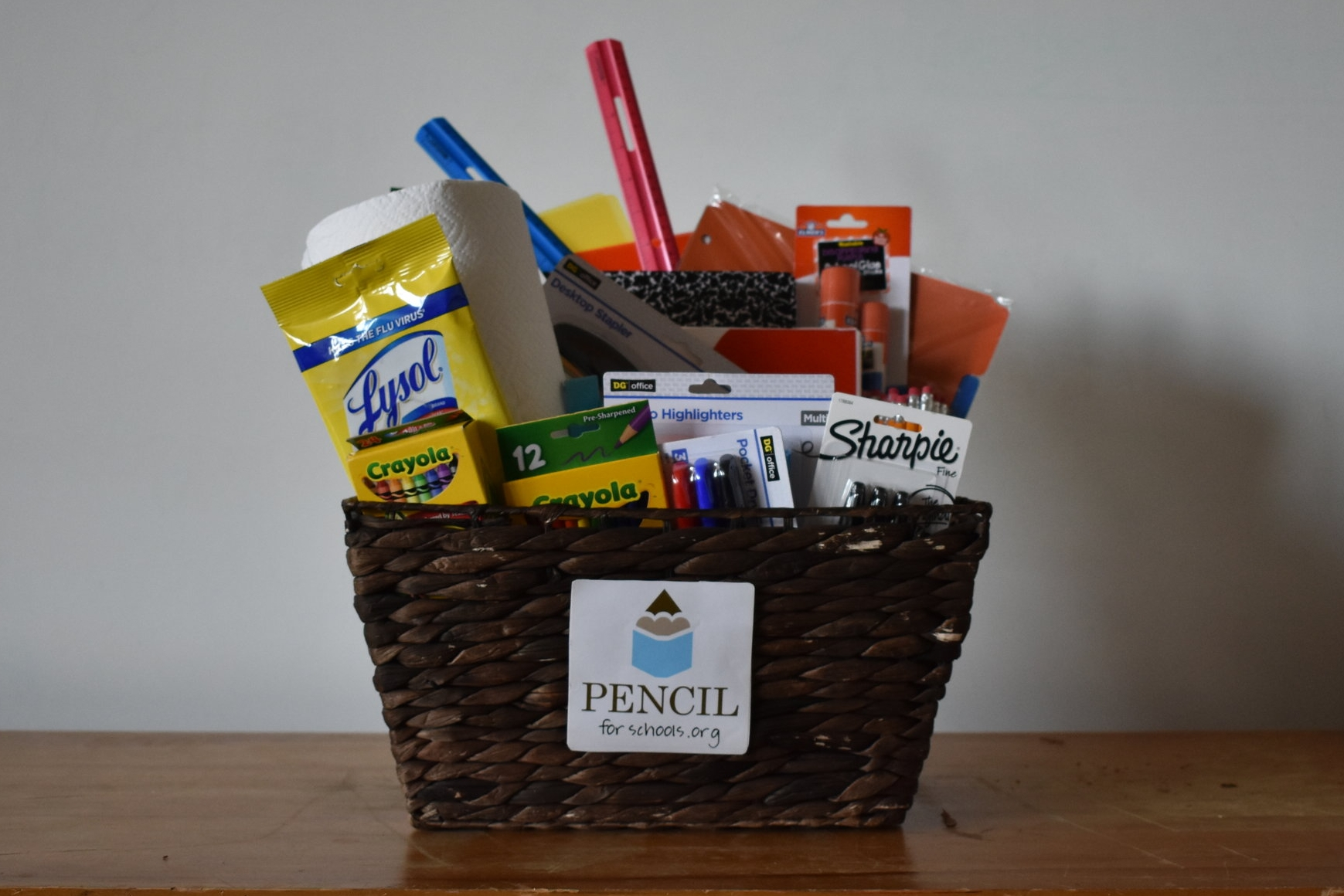 Most-needed school supplies for the LP PENCIL Box