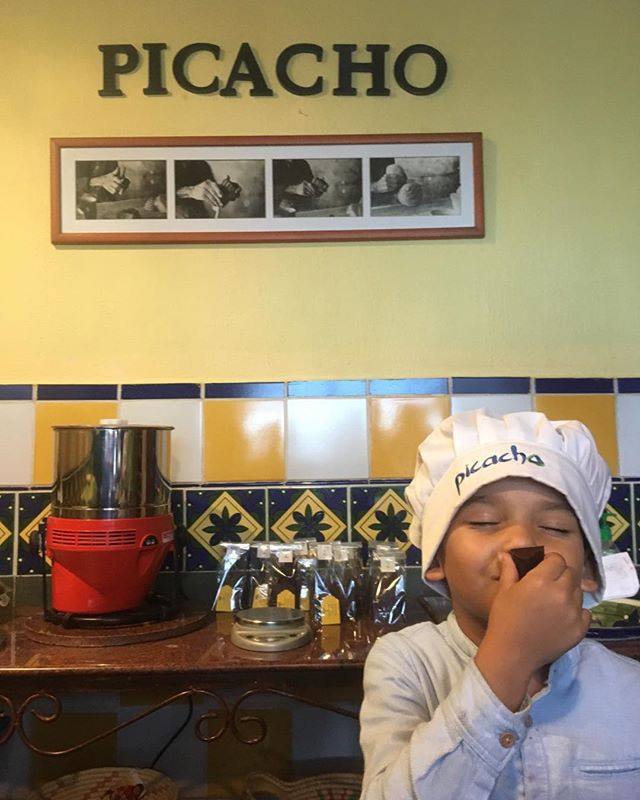 La experiencia en Picacho es sensorial. #cacaovenezolano #galipan #chocolates