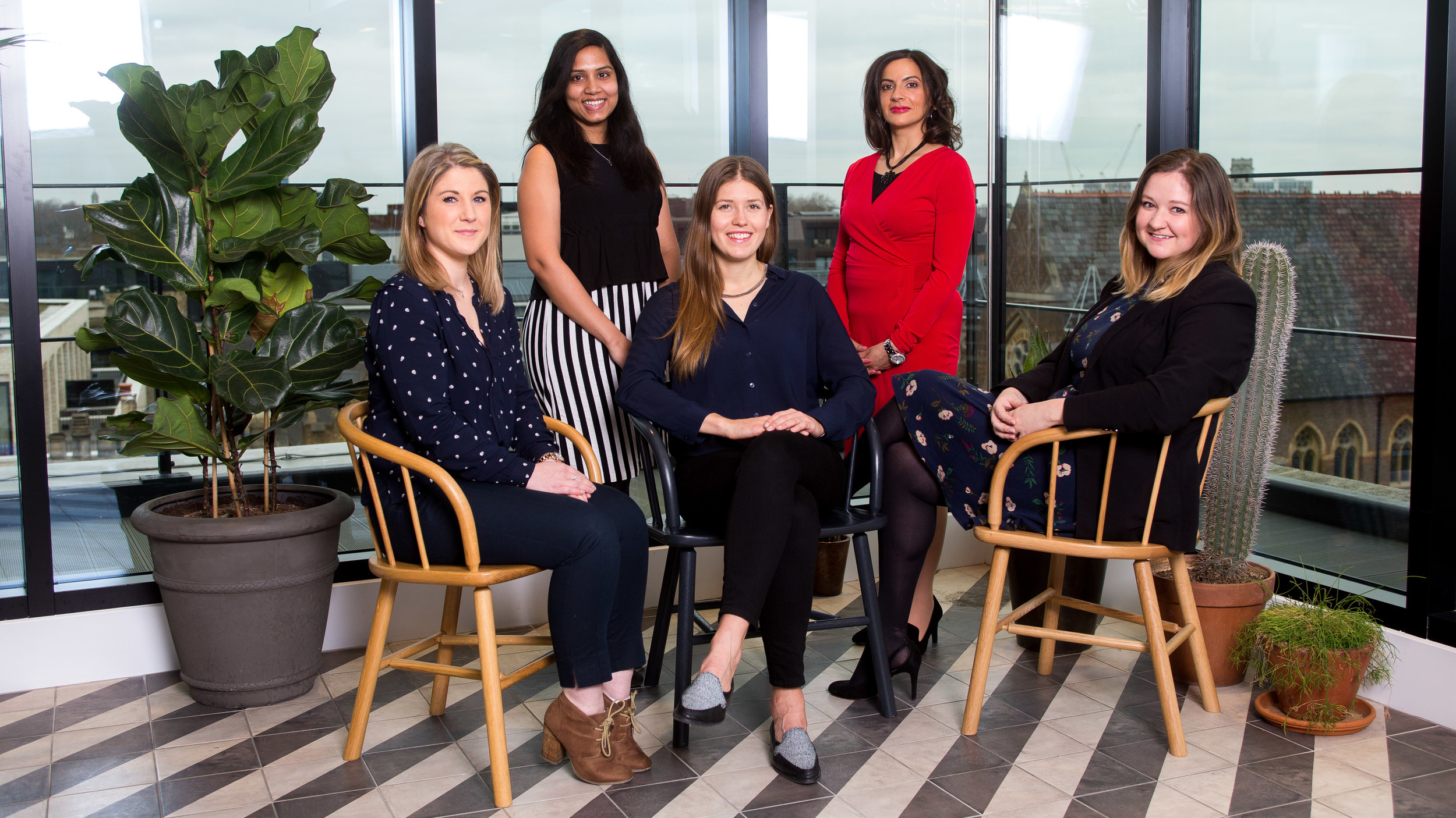 8 Barclays colleagues who were nominated in the TechWomen50 Awards
