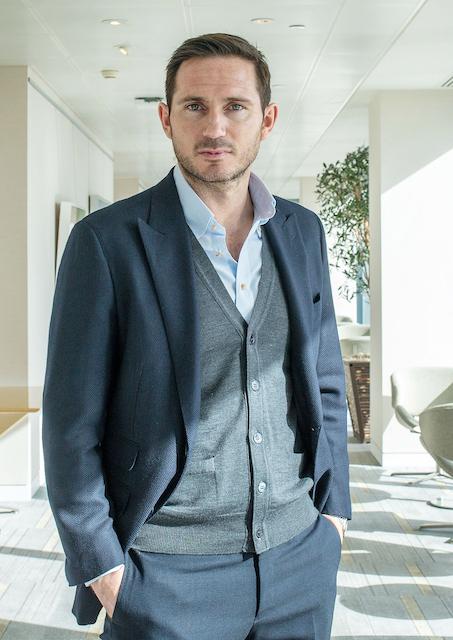 Frank Lampard. At Barclays HQ, London. 29/3/18