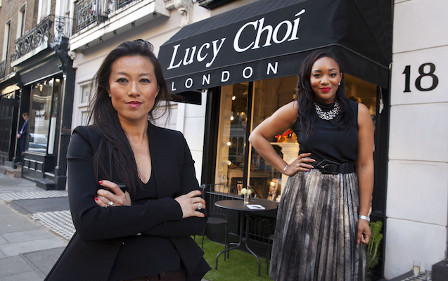 Lucy Choi Boutique... Barclays event at the Lucy Choi Botique in London... speakers were Lucy Choi and Bianca Miller..  © photograph by David Sandison www.dsandison.com +44 7710 576 445 +44 208 979 6745