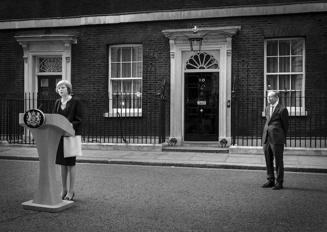 British Prime Minister, Theresa May arriving  at Downing St.Photography  by Jason Byet: 07966 173 930e: mail@jasonbye.comw: www.jasonbye.com