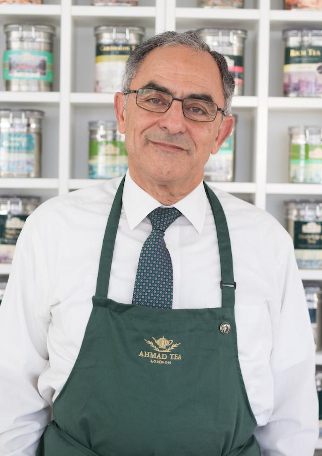 Rahim Afshar Managing Director and tea taster. Credit: David Parry