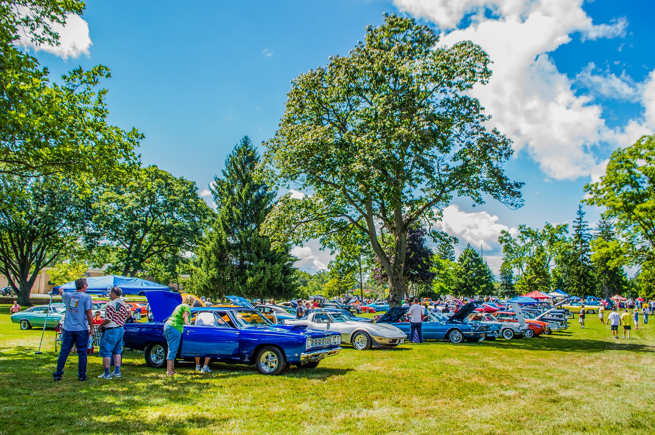 2016 Annual Car Show - located on our east landscape