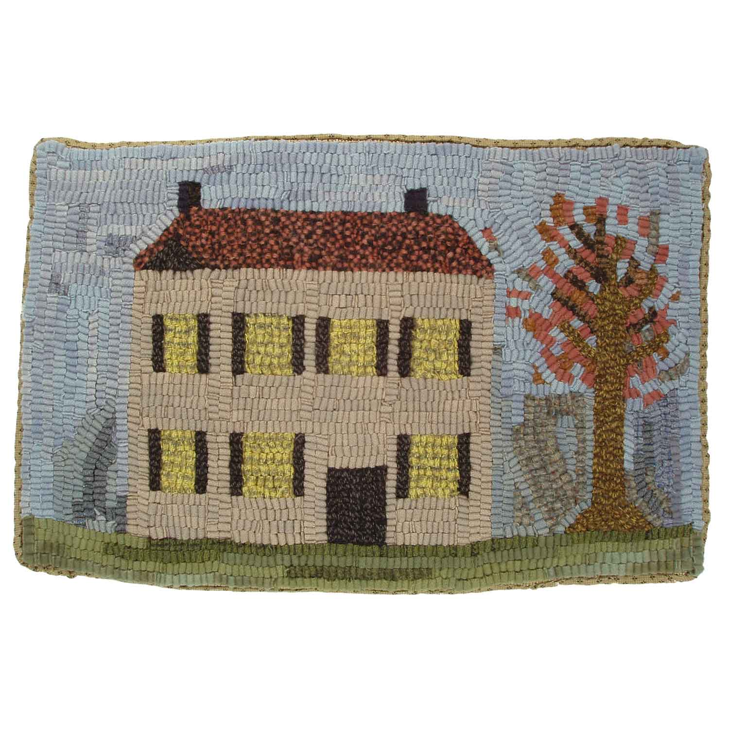 Spring House Hooked Rug